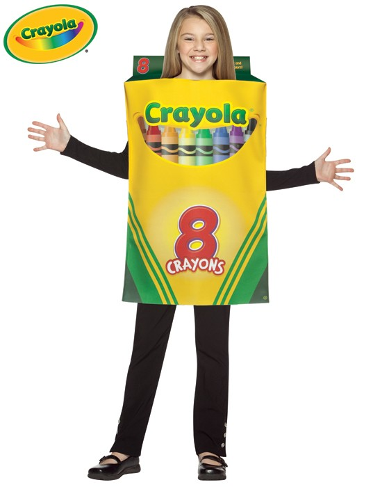 Child Crayola Crayon Box Costume - 7-10