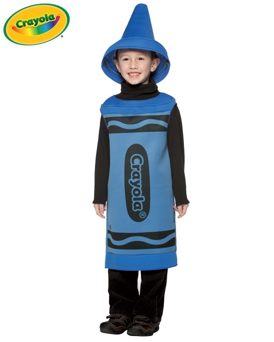Child Crayola Crayon Costume - Blue