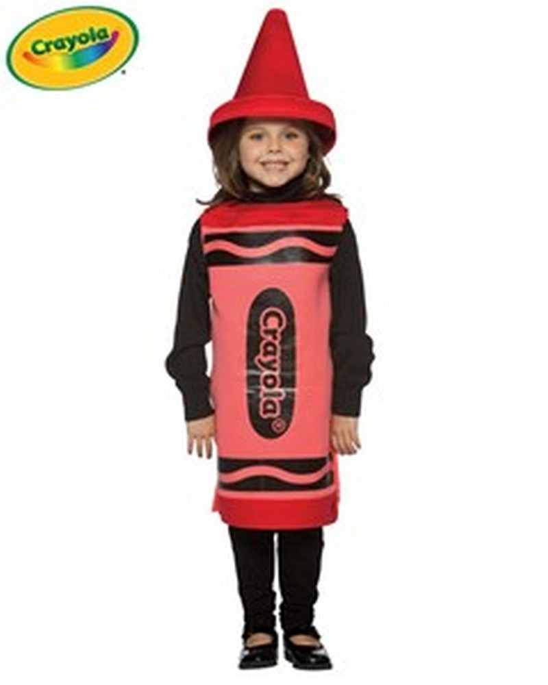 Child Crayola Crayon Costume - Red