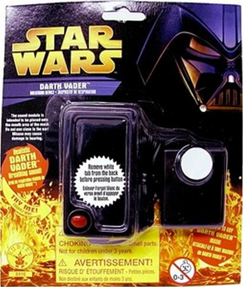 Child Darth Vader Breathing Device
