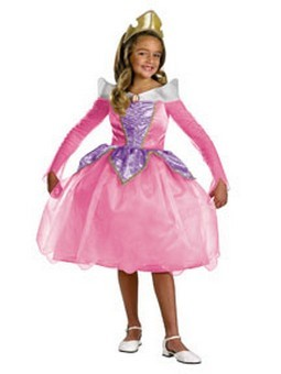 Child Deluxe Aurora Costume