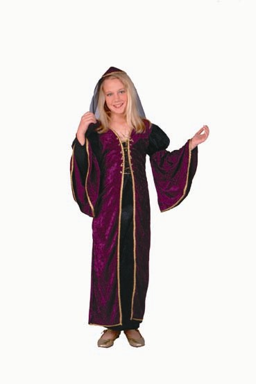 Child Deluxe Burgundy Juliet Costume