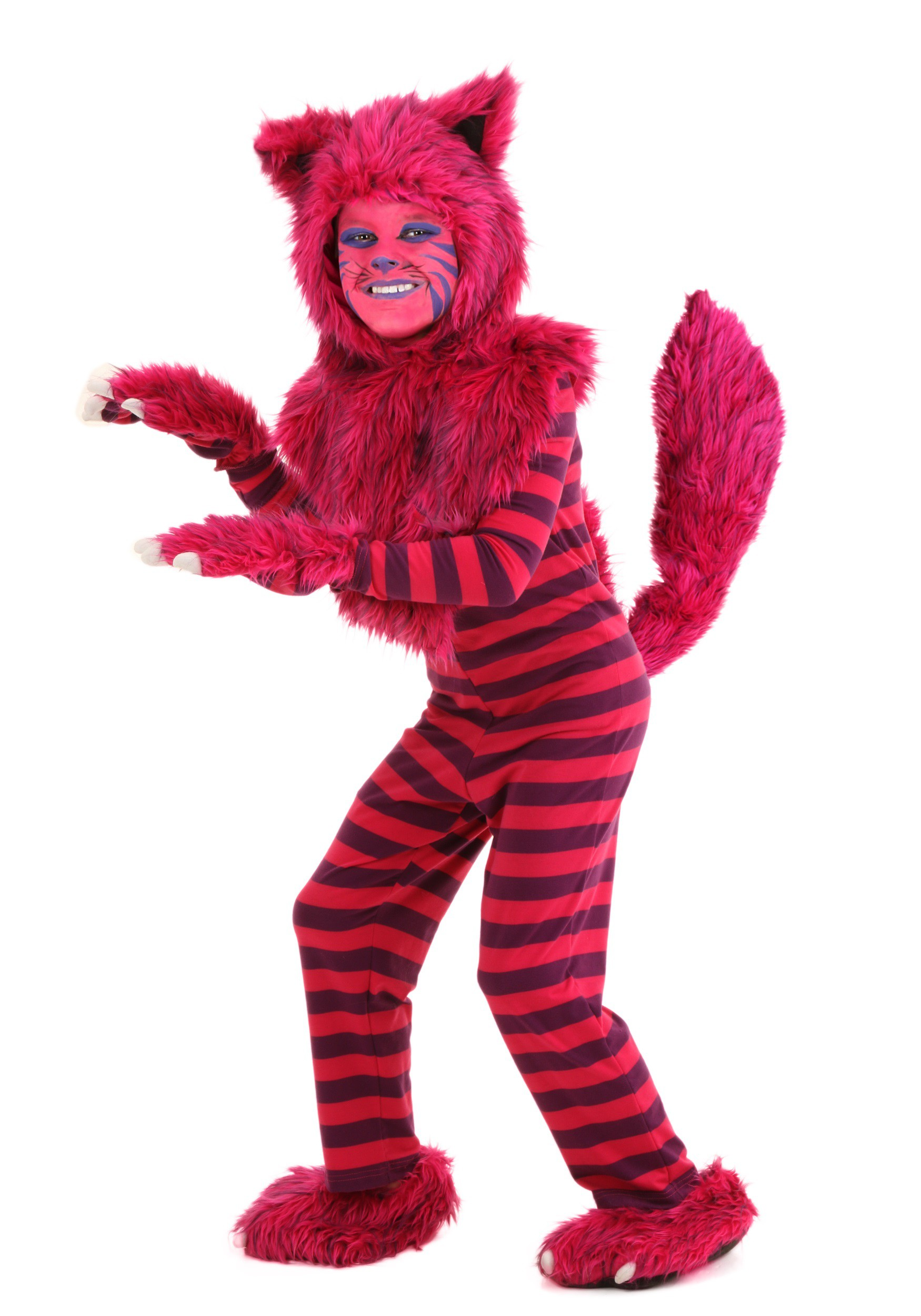 Child Deluxe Cheshire Cat Costume