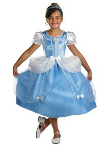 Child Deluxe Cinderella Costume