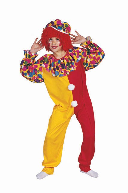 Child Deluxe Circus Clown Costume