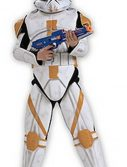 Child Deluxe Clone Trooper Commander Cody