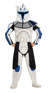 Child Deluxe Clone Trooper Leader Rex Costume