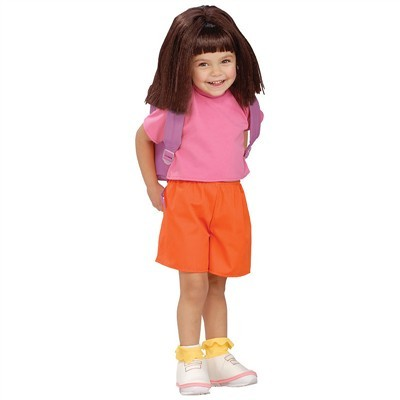 Child Deluxe Dora the Explorer Costume