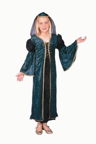 Child Deluxe Green Juliet Costume