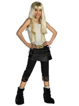 Child Deluxe Hannah Montana Costume