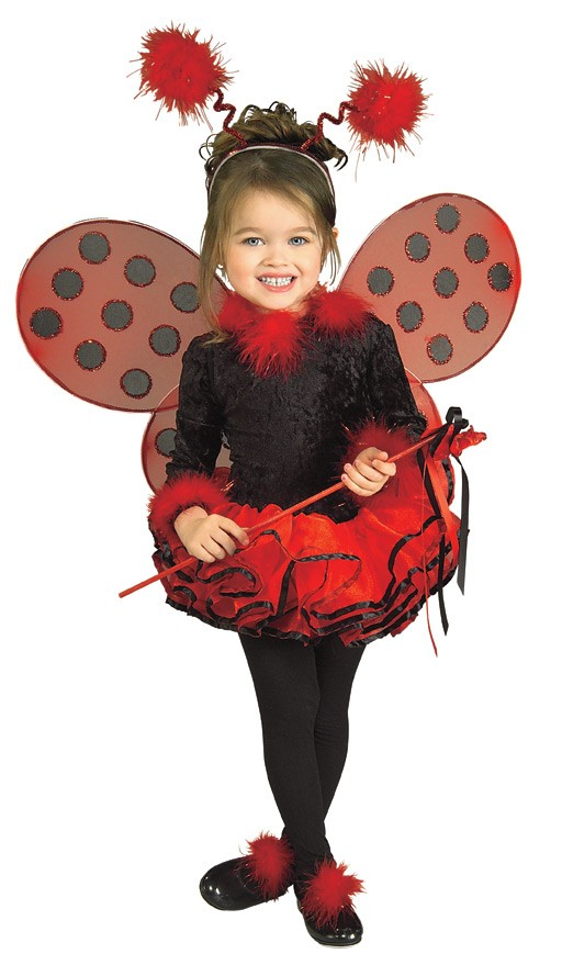 Child Deluxe Ladybug Costume