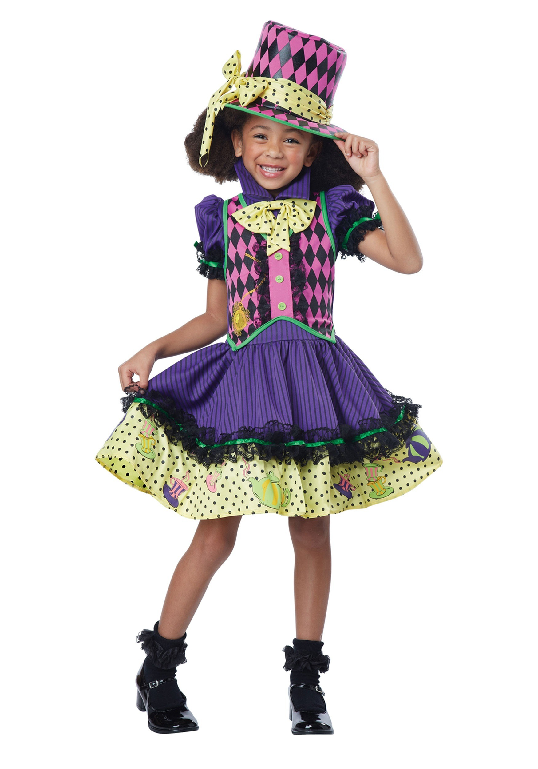 Child Deluxe Mad Hatter-ess Costume