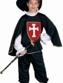 Child Deluxe Musketeer Costume (cross)