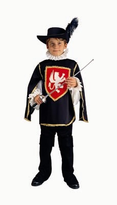 Child Deluxe Musketeer Costume (dragon)