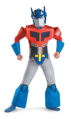 Child Deluxe Optimus Prime Costume