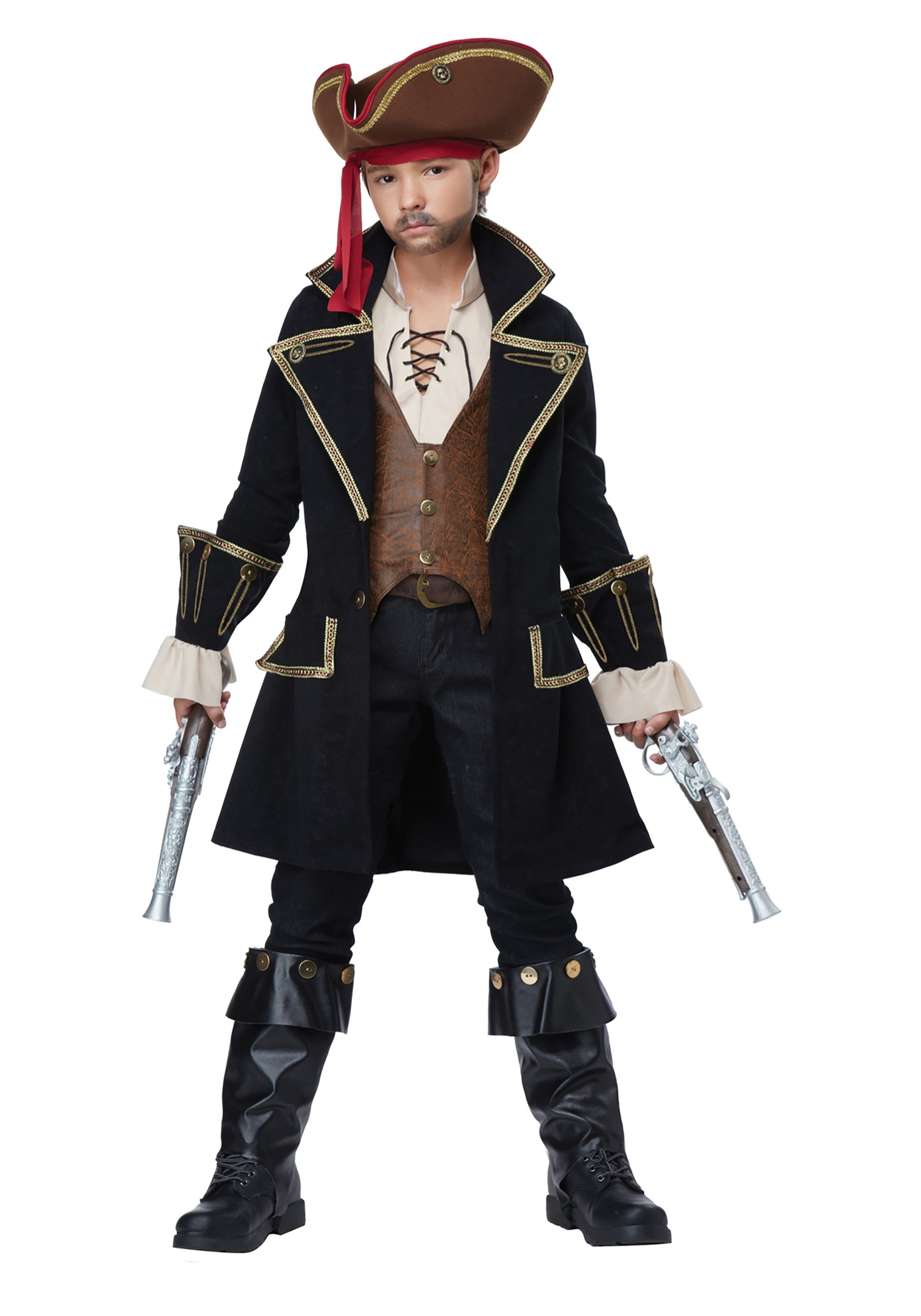Child Deluxe Pirate Captain Costume