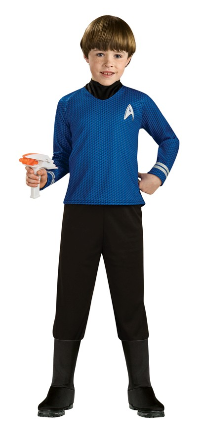 Child Deluxe Spock Costume - Blue