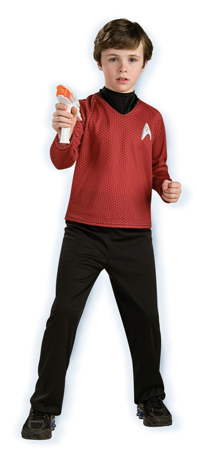 Child Deluxe Star Trek Costume - Red