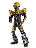 Child Deluxe Transformers 3-D Bumblebee Costume
