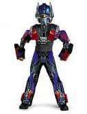 Child Deluxe Transformers 3-D Optimus Prime Costume