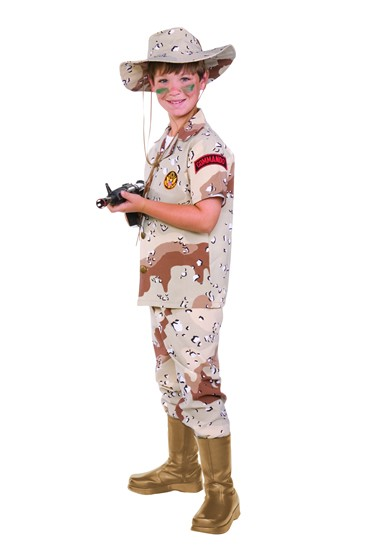 Child Desert Storm Costume