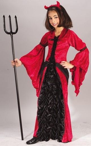 Child Devil Princess Costume