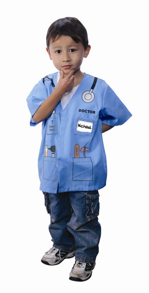 Child Doctor Costume (Blue)