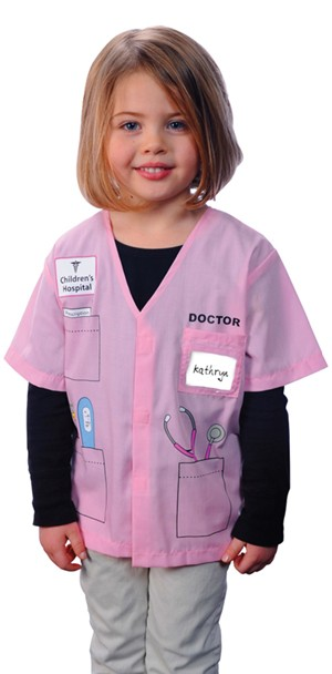 Child Doctor Costume (Pink)