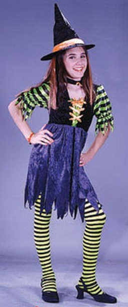 Child Fairy Tale Witch Costume