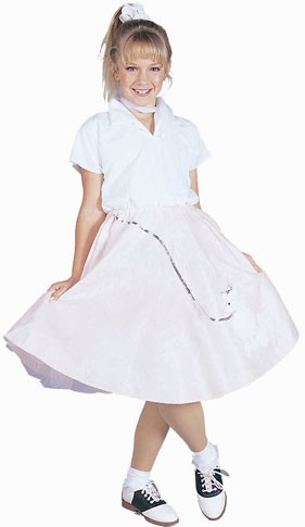 Child Fifties Girl Costume