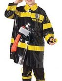 Child Firefighter Costume - Black/Yellow