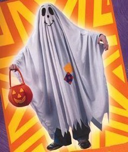 Child Friendly Ghost Costume