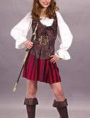 Child Girl Buccaneer Costume