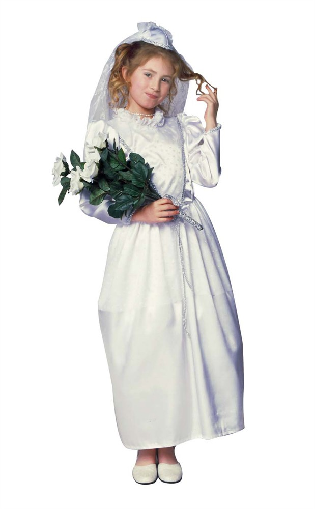 Child Glamour Bride Costume