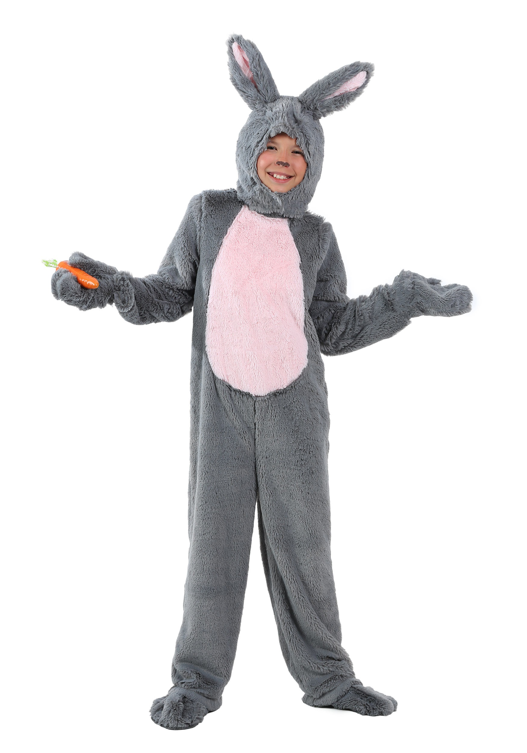 Child Grey Bunny Costume