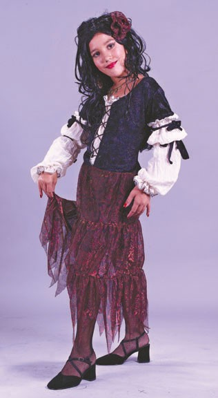 Child Gypsy Rose Peasant Costume