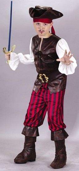 Child High Seas Buccaneer Costume