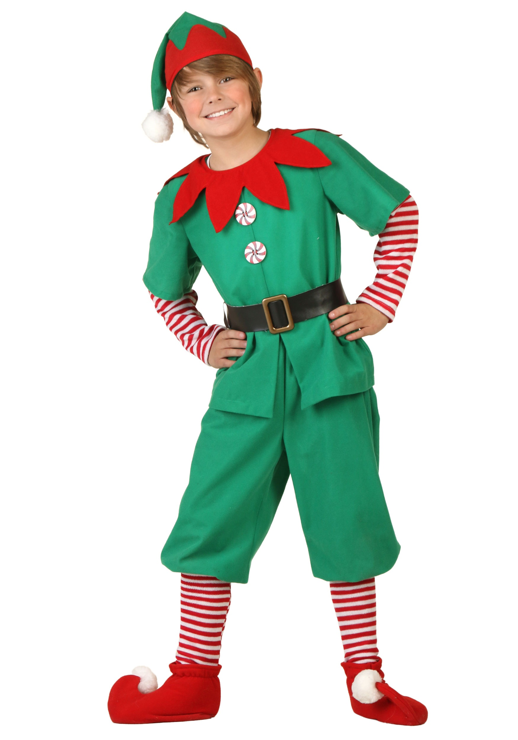 Child Holiday Elf Costume