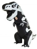 Child Inflatable Skeleton T-Rex Costume