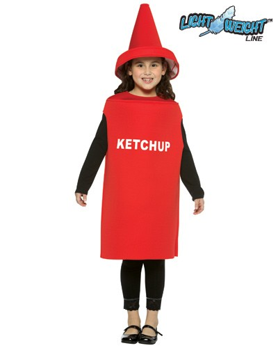 Child Ketchup Costume - Lightweight