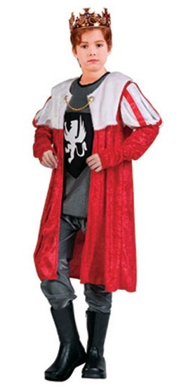 Child King Robe Costume