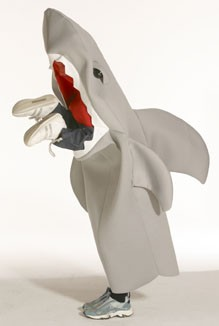 Child Lil Man-Eating Shark Costume