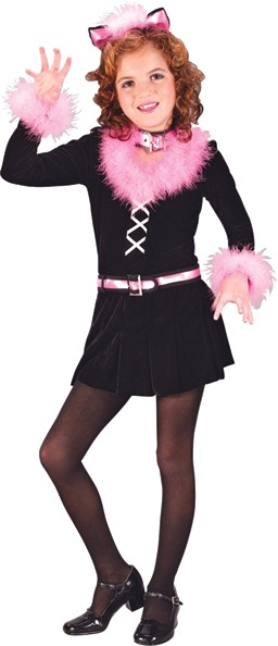Child Marabou Cat Costume