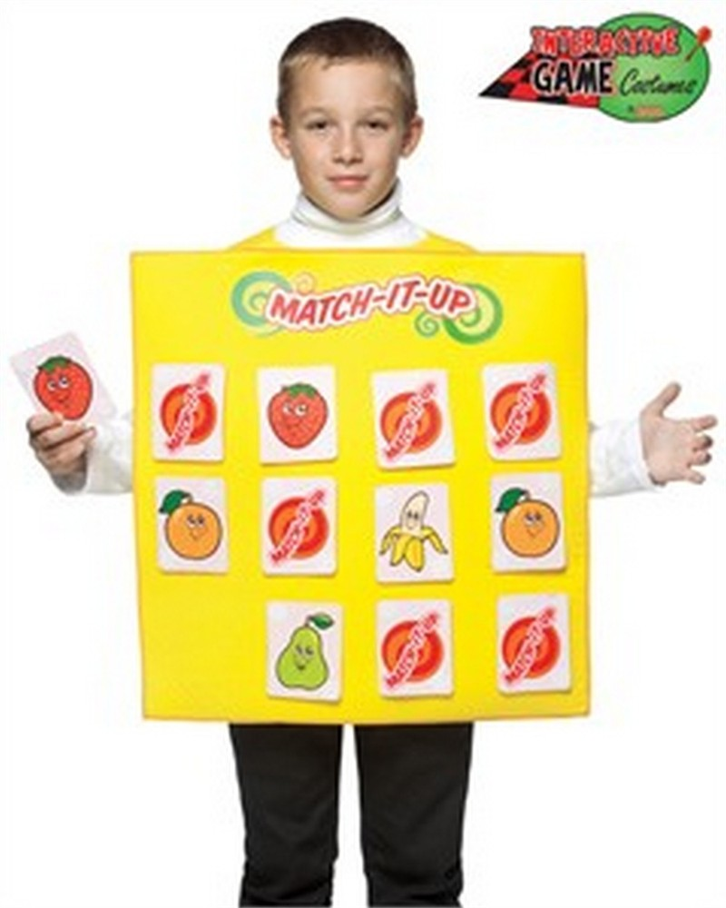 Child Match Game Costume - 7-10