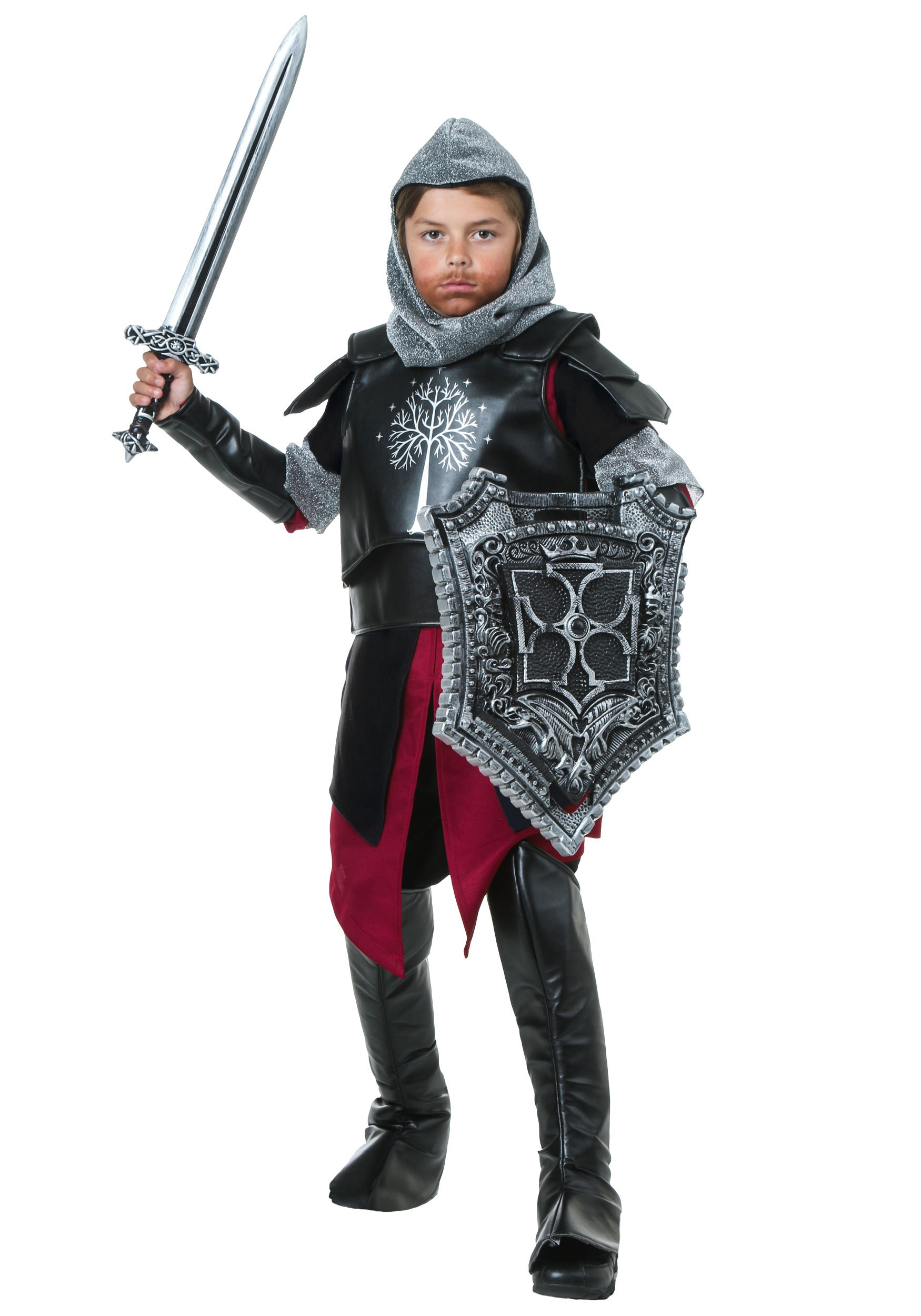 Child Medieval Battle Knight Costume