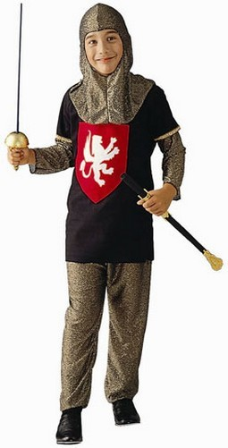Child Medieval Knight Costume
