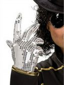 Child Michael Jackson Silver Sequined Glove