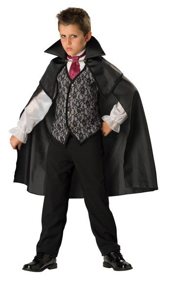 Child Midnight Vampire Costume