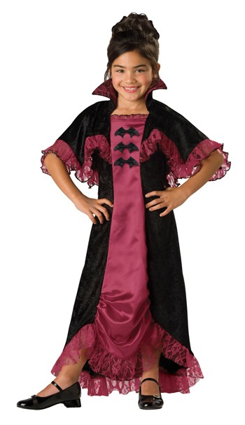 Child Midnight Vampiress Costume