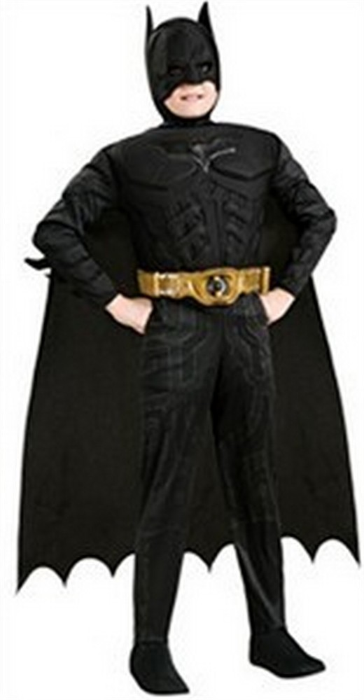 Child Muscle Chest Batman Costume - Dark Knight Rises